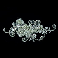 Women's Rhinestone/Lace/Pearl Headpiece - Wedding/Casual/Special Occasion Fascinators