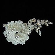 Women's Satin/Lace/Rhinestone/Imitation Pearl Headpiece - Wedding/Special Occasion/Casual Fascinators/Flowers