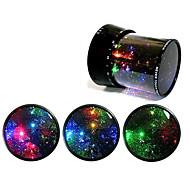 Starry Sky Revolving LED Lamp/Music Box(Ramdon Color)