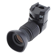racek 1x-2x pravý úhloměr pro Canon, Nikon, Pentax, Minolta, Fuji, Olympus a Leica zrcadlovky