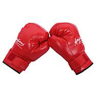 가죽 가득 차있는 손가락 착용 권투 장갑 (평균 크기)