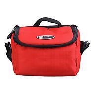 Ripstop Polyester matelassé étui souple de protection sac de transport pour appareil photo numérique Taille Large - Rouge