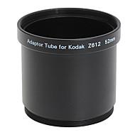 עדשת 52mm וTube מתאם מסנן לקודאק Z612/Z712/Z812 השחור