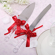 Stainless Steel Serving Sets Floral Theme Gift Box