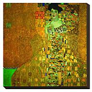 Rouva Adele Bloch-Bauer 1907 Gustav Klimt Famous Canvastaulu