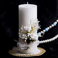 farverige lys med bowknot koral bryllup