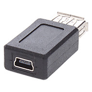 USB 2.0 femelle à mini USB femelle adaptateur de charge