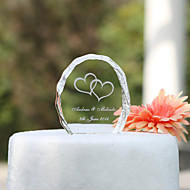 cake toppers crystal taart topper - hart