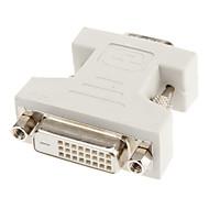 DVI 24 +1 naar-VGA-F / M Adapter