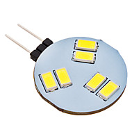 G4 1.5 W 6 SMD 5630 150 LM Natural White Bi-pin Lights AC 12 V