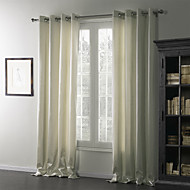 TWOPAGES® Two Panels  Contemporary Quiet Curtain