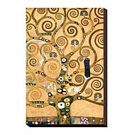 Friso II de Gustav Klimt famoso lienzo envuelto para galerías