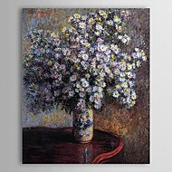Famous Oil Painting Asters by Claude Monet