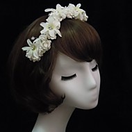 Women's Satin/Rhinestone/Paper Headpiece - Special Occasion Headbands