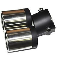 Universal Stainless Steel Muffler for Vehicles Exhaust Pipe (63mm-Inner Diameter) LMC-M-041