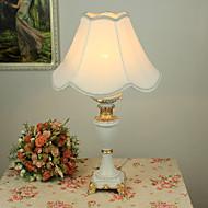 maalaismainen pöytä valo tyylikäs kangasvarjostin hartsirungon maalaus valmistui 220-240v