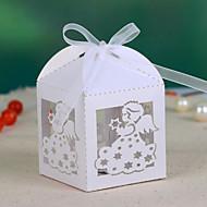 Engel Hohle-heraus Wedding Favor Box (Satz 12)