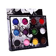 12ks Velvet Nail Art Dekorace