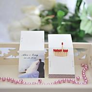 decoração do casamento matchbooks personalizados - tema da praia (conjunto de 50)