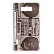 Retro Style Radio Pattern Hard Case for LG Optimus L7 P705