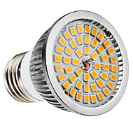 E27 6W 48x2835SMD 580-650LM 2700-3500K Warm White Light LED Spot Bulb (110-240V)