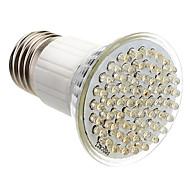 E27 3,5 W 60-led 350-400LM 3000-3500K warm wit licht LED Spot lamp (85-265V)