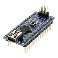 Nano V3.0 AVR ATmega328 P-20AU module board & USB-kabel voor Arduino (blauw + zwart)