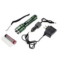 LED Flashlights/Torch / Lanterns & Tent Lights LED 4 Mode 350 Lumens Adjustable Focus / Waterproof / Rechargeable Cree XR-E Q5 18650