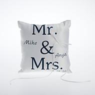 Personlig Satin Ring Pillow