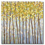 Em Canvas arte botânica Árvores Amarelas