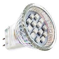 1W GU4(MR11) LED bodovky MR11 14 SMD 3528 lm Červená AC 220-240 V