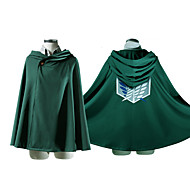 """Cosplay Costume Inspired by Attack on Titan Eren Jager Recon Corp """"Wings of Freedom"""" Cosplay Cape"""