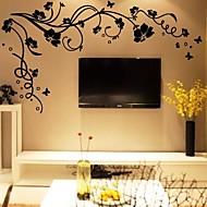 DIY Wall Stickers Flower Tree Branches Washable Wall Decals