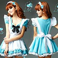 Sweet Girl Bianco Grembiule da Blue Sky Poliestere cameriera Uniform