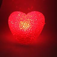 Wedding Décor Crystal Heart Style Red Light