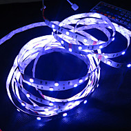 RGB Led Strip Light Non-waterproof 5M SMD 5050 150 LEDs/Roll + 24 keys IR Remote Controller