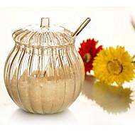 Vertikal Grain Sugar Bowl Med Matchet Spoon