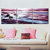 Canvas Art Landscape Sea Wave Conjunto de 3