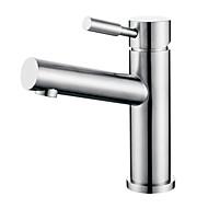Modern Design Stainless Steel Brushed Bathroom Sink Faucet