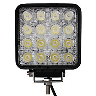48W 16 LEDs Quadratisch Arbeits-Licht