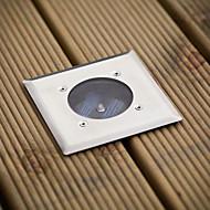 LED blanche en acier inoxydable Lumières de terrasse solaires (cis-57103)