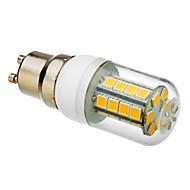 GU10 5.5 W 30 SMD 5050 250-280 LM 3000 K Warm wit Maïslampen AC 85-265 V