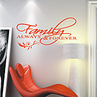 Family Always & Forever Wall Stickers
