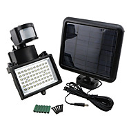 9975520 60-LED Bright Solar Power Motion Sensor Security Wall Light Flood Lamp Spotlight