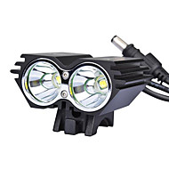 Pyöräilyvalot Polkupyörän etuvalo LED Pyöräily 18650 Lumenia AC laturi Pyöräily