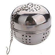 monitoimilaitteet tee halk 5.5cm ruostumatonta pallo lukitus infuser siivilä teetä vedenkeittimet