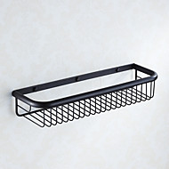 Traditional Centerset Oil Rubbed Bronze Bathroom Shelf
