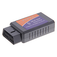 Toimii Android Torque ELM327 Bluetooth V1.5 Interface OBD2/OBDII Auto Auto Diagnostic Skanneri