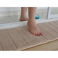 "Badematte Memory Foam Beige Stripe 16 x 24 ""Non Skid"