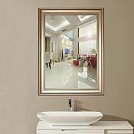 """27.5 """"White Yogon Projeto Breve Estilo Polyresin parede do espelho"""